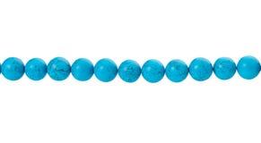 Blauwe parels stock afbeelding