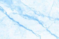 Blauwe pastelkleur marmeren textuur met hoge resolutie voor ceramische tegen luxueuze, hoogste mening als achtergrond en ontwerp  royalty-vrije stock afbeeldingen