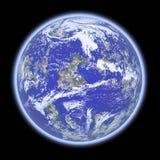 Blauwe planeet Stock Fotografie