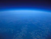 Blauwe planeet. Royalty-vrije Stock Foto