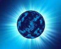 Blauwe Planeet Stock Foto's