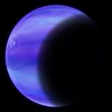 Blauwe Planeet Stock Afbeeldingen