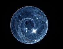 Blauwe planeet Royalty-vrije Stock Afbeeldingen