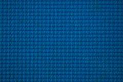 Blauwe plastic schuimende textuur stock foto