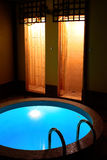 Blauwe pool Stock Afbeeldingen