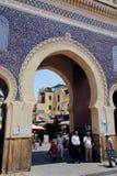 Blauwe Poort in Fez, Marokko Royalty-vrije Stock Afbeelding