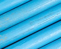 Blauwe potloden als achtergrond Royalty-vrije Stock Foto