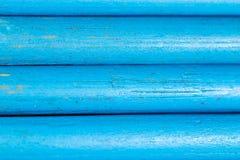 Blauwe potloden als achtergrond Royalty-vrije Stock Afbeelding
