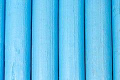 Blauwe potloden als achtergrond Stock Fotografie