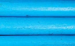 Blauwe potloden als achtergrond Stock Foto's