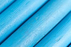 Blauwe potloden als achtergrond Royalty-vrije Stock Fotografie