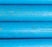 Blauwe potloden als achtergrond Stock Afbeelding