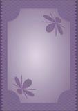 Blauwe Purpere Achtergrond Stock Afbeelding