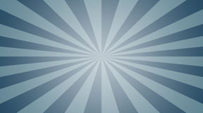 Blauwe radiale achtergrond Stock Foto's