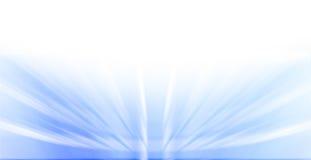 Blauwe Ray Background Royalty-vrije Stock Afbeelding