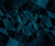 Blauwe rechthoeken 2 stock fotografie