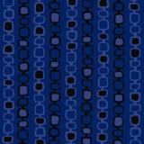 Blauwe Retro VectorAchtergrond Stock Fotografie