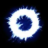Blauwe ring royalty-vrije illustratie