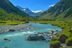 Blauwe rivier Royalty-vrije Stock Afbeelding