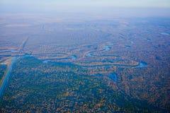 Blauwe rivier stock foto's