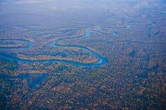 Blauwe rivier royalty-vrije stock foto's
