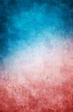 Blauwe Rode Grunge Stock Afbeelding