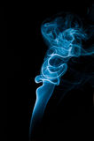 Blauwe rokerige abstracte achtergrond Royalty-vrije Stock Afbeelding