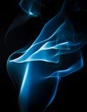 Blauwe rokerige abstracte achtergrond Royalty-vrije Stock Foto