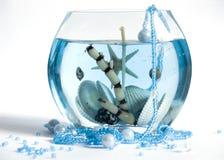 Blauwe romantiek Stock Foto's