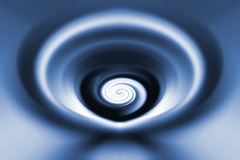 Blauwe rotatieachtergrond Stock Foto's