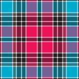 Blauwe roze veelhoeken en lijnenillustratie vector illustratie