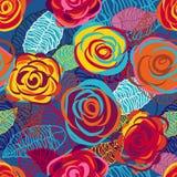 Blauwe rozen Stock Fotografie