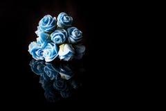 Blauwe Rozen Stock Foto
