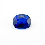 Blauwe Saffier Royalty-vrije Stock Afbeeldingen