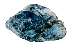 Blauwe saffier Royalty-vrije Stock Foto