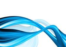Blauwe samenvatting Stock Fotografie