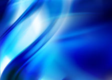 Blauwe samenvatting Stock Foto
