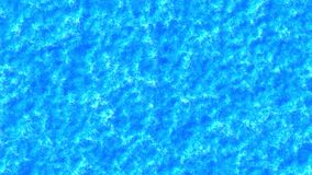 Blauwe samenvatting geanimeerde achtergrond stock footage