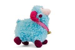 blauwe schapen Stock Foto
