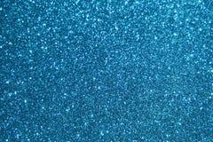 Blauwe schitterende achtergrond Stock Foto