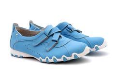 Blauwe schoen Royalty-vrije Stock Foto's