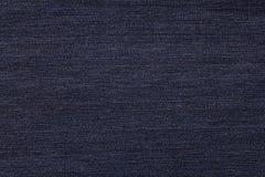 Blauwe sjofele dichte omhooggaand van de jeanstextuur Stock Afbeeldingen