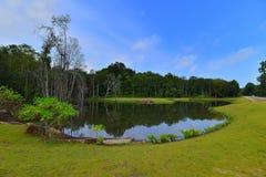 Blauwe Sky5 Batam Bintan wonderfull Indonesië royalty-vrije stock afbeelding