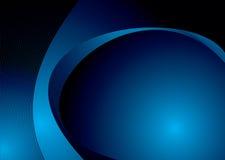 Blauwe slag Royalty-vrije Stock Fotografie