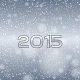 Blauwe Sneeuw 2015 Stock Fotografie