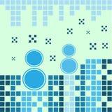 Blauwe sneeuwmannen Stock Afbeelding