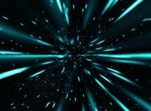 Blauwe snelheid 2 vector illustratie