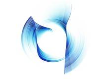 Blauwe snelheid Royalty-vrije Stock Afbeelding