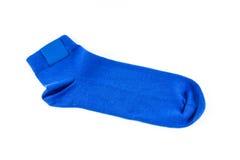 Blauwe sokken Royalty-vrije Stock Afbeelding