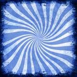 Blauwe spiraal royalty-vrije stock foto
